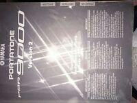 Yamaha Keyboard portatone 9000