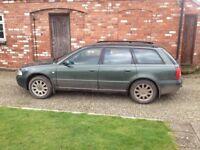 2000 V reg Green Audi A4 1.9 TDi SE AVANT 110bhp Turbo Diesel