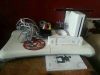 Nintendo wii game, one controller, one cd game, balance board