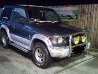 Mitsubishi pajero 2.5 td automatic swb 4x4 4wd