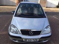 2004 Mercedes-Benz A 1.7 A170 CDI Classic SE 5dr (SWB) Diesel @07445775115@