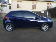 2013 Mazda2 Neo Sport Hatch 5 Speed Manual Storm Blue West Moonah Glenorchy Area Preview