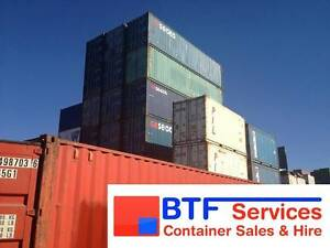 10FT, 20FT & 40FT SHIPPING CONTAINERS - FOR SALE - PERTH Perth Perth City Area Preview