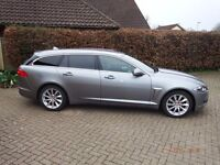 Jaguar XF Sportbrake 2.2 200 PS in Perfect condition throughout