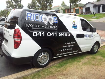 RICKOO MOBILE MECHANICAL REPAIRS Prestons Liverpool Area Preview
