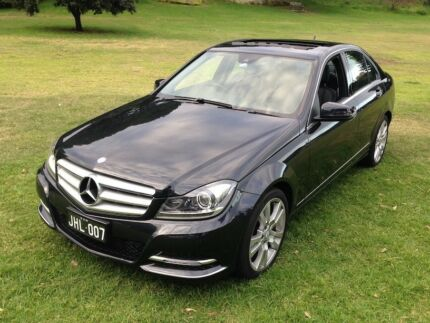 2013 Mercedes-Benz C250 Avantgarde BE Sedan with Sunroof Sydney City Inner Sydney Preview