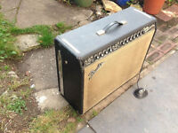 1966 Fender Twin Amp Original Blackface