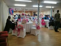 HIRE CHAIR COVERS AND TABLE COVERS