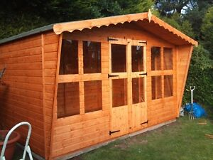 ******* SUMMER SALE **************  12 x 8 summer house wooden garden shed
