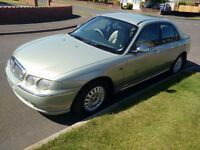 Rover 75 Connoisseur SE, 2.0 diesel Moonstone Saloon 204K 2001Y Full History used daily