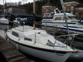 Sailing yacht 24 ft