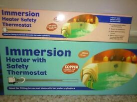 Two New Copper Immersion Heaters