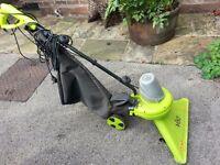 GARDEN VAC Leaf Collector Vacuum Push type