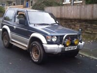 MITSUBISHI PAJERO 4X4 DIESEL RARE MANUAL SUPER SELECT 4WD