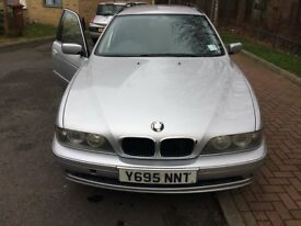 2001 BMW i520 5 Series (E39) Touring Estate AUTO Long MOT