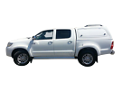 SMM Steel Canopy Toyota Hilux DUAL CAB 2005 to 2015 Glacier White Clayton South Kingston Area image 2