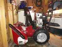 Craftsman dual stag snowthrower / snow blower