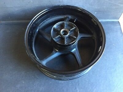 <em>YAMAHA</em> R1 R 1 5VY 2004 2006 BREAKING PARTS REAR WHEEL RIM BACK WHEEL