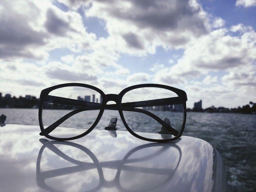 92cbad8a03 Оправа для очков Retro Vintage Huge Big Oversized Square Black Frame Women  Men Eyeglasses Glasses