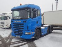 2009-59 scania g400 single sleeper 2 pedal opticruise ex fuel comp owner very low klms plus vat