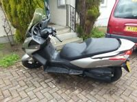 Kymco Downtown 125 Fully Automatic Luxury Learner Legal Scooter