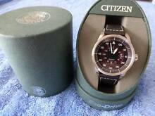 Citizen Eco Drive Aviator Watch Brand New with Gift Box & Tags. Freshwater Manly Area Preview