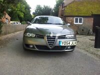 Alfa Romeo 156 JTD Veloce Sportwagon Estate 6 Speed Diesel