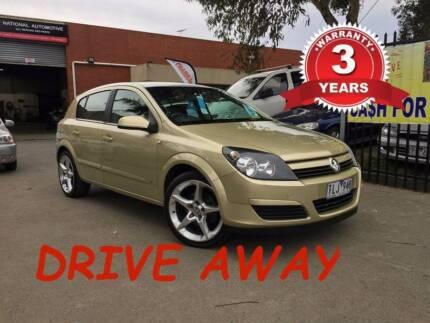 Holden Astra CDX AUTO *3 YEAR WARRANTY +RWC+REGO +STAMP DUTY**