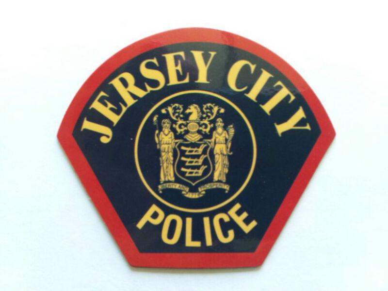 Jersey City Police patch magnet