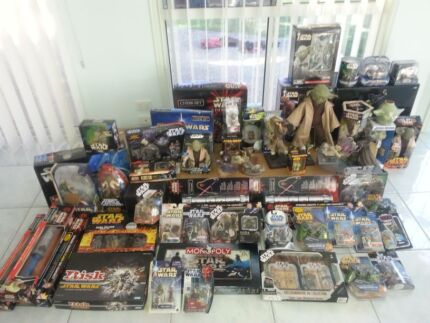 ☆HUGE *STAR WARS* Collection Bulk Lot or Sell Separate pieces Ashmore Gold Coast City Preview