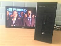 HP ProDesk Mini Tower PC Unit with WiFi Internet & Windows 10 Pro