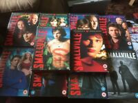 Smallville Seasons 1-10 Complete Decent Condition