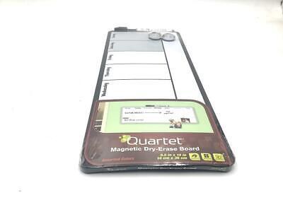 Quartet Magnetic Dry Erase Board 55 X 14 Inch White Board Black Frame
