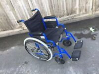 Deluxe Lightweight Self Propelled Folding Wheelchair - Free Delivery