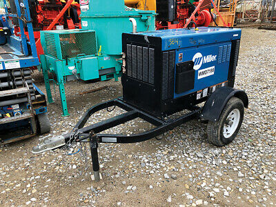2016 - Miller 907477 - 450 Duo 400 Amp Big Blue Portable Diesel Welder