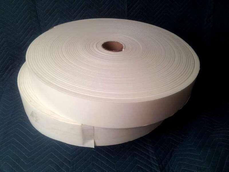 "(10) Foam Rolls - 1/4"" x 4"" x 150"