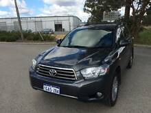 KX-S 4X4 2008 Toyota Kluger Wagon Kenwick Gosnells Area Preview