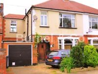 Spacious 4 bedroom semi-detached house in Hounslow with single garage and private garden