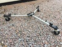 Professional Helios T-61 Foldable Video Camera Tripod Dolly