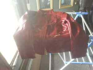2 new leather jackets for sale