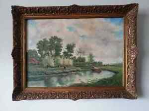 Painting oil on canvas Peterborough Peterborough Area image 1