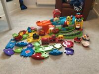 Toot Toot Garage, Track, 12 Cars