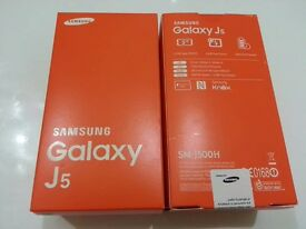 Samsung Galaxy J5 Duos in box with all accessories SIM FREE UNLOCKED