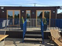 Swallowdale Holiday Home. A Riverside Holiday Home In Brundall On The Norfolk Broads