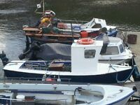 ****19ft PLEASURE FISHING/CREEL BOAT FOR SALE****