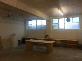 Artists studio / gallery / project space - very near Bethnal Green tube and good galleries