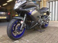 YAMAHA XJ6 DIVERSION F, 599cc , Brilliant Condition, No scratches or rain! 1 Owner £4,500.