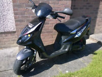 Piaggio NRG50 Upgraded To 70cc - With MOT