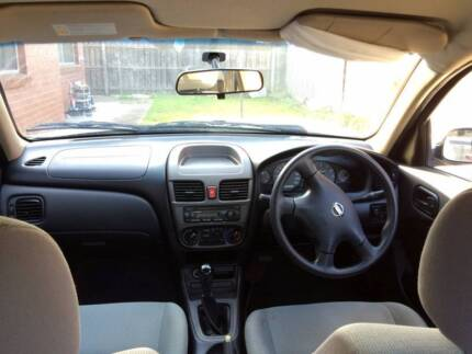 2004 Nissan Pulsar Sedan Brunswick West Moreland Area Preview