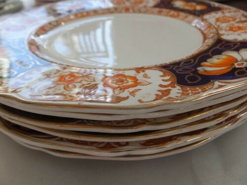 Set of 6 salad plates: Royal Cameron Alfred Meakin England